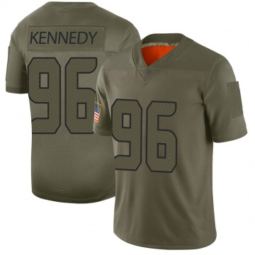 Men's Seattle Seahawks Cortez Kennedy Camo Limited 2019 Salute to Service Jersey