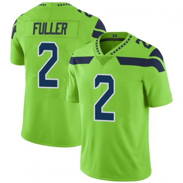 Youth Seattle Seahawks Aaron Fuller Green Limited Color Rush Neon Jersey By Nike