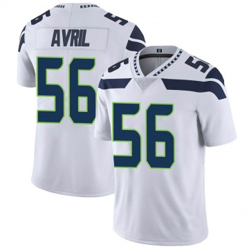 Youth Seattle Seahawks Cliff Avril White Limited Vapor Untouchable Jersey By Nike