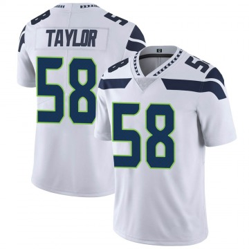 Youth Seattle Seahawks Darrell Taylor White Limited Vapor Untouchable Jersey By Nike