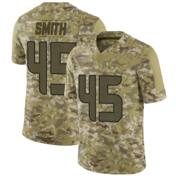 Youth Seattle Seahawks Sutton Smith Camo Limited 2018 Salute to Service Jersey By Nike
